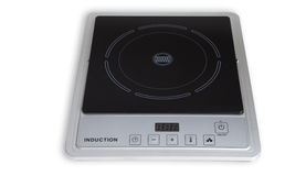 Portable induction cooker. stock image