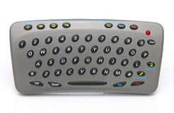 Portable keyboard. For input SMS by a mobile phone Stock Photos