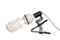 Portable lamp Stock Photography