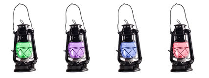 Portable lanterns Stock Photos