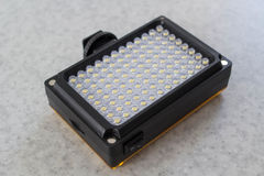 Portable LED Light. On white Royalty Free Stock Images