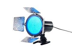 Portable lighting for video Stock Image