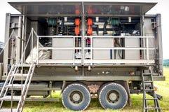 Portable military decontamination system Stock Image