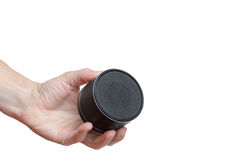 Portable mobile speaker Stock Photography