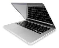 portable ouvert d'ordinateur Photos libres de droits
