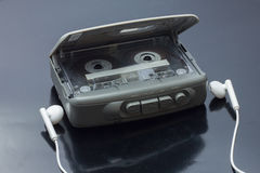 Portable personal stereo tape cassette player Stock Image