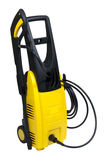 Portable pressure washer. Isolated over white background Stock Image