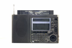 Portable  radio. Portable all wave digital radio from 90-th Stock Photography