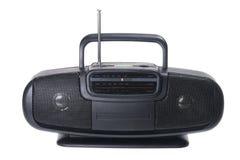 Portable Radio. On White Background Stock Photo