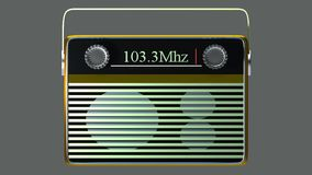 Portable radio Royalty Free Stock Photo