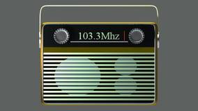 Portable radio Royalty Free Stock Photo