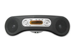 Portable radio cassette recorder Stock Photo