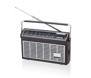 Portable radio isolated Stock Images
