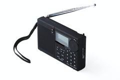 Portable radio receiver Royalty Free Stock Photos