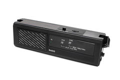 Portable radio receiver Royalty Free Stock Images