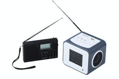 Portable radio receivers Royalty Free Stock Photos