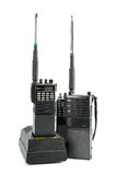 Portable radio set royalty free stock photos