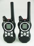 Portable radio set Stock Image