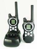 Portable radio set Stock Images