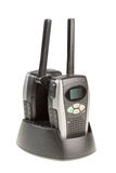 Portable radio station. Stock Images