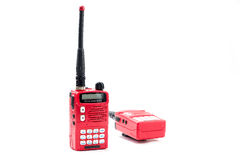 Portable radio transceiver. Royalty Free Stock Image