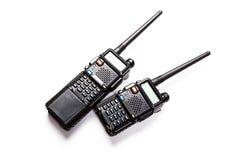 Portable radio transmitter Royalty Free Stock Photo