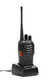 Portable radio Walkie-talkie on charging station Royalty Free Stock Photos