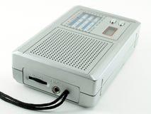 Portable Radio on white background Royalty Free Stock Photos