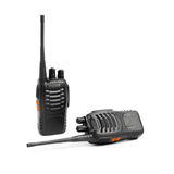 Portable radios Walkie-talkie on white Royalty Free Stock Images