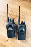 Portable radios Walkie-talkie Royalty Free Stock Photo