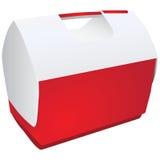 Portable refrigerator Stock Image
