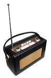 Portable retro radio Stock Images