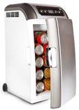 Portable road refrigerator Stock Image