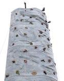 Portable rock climbing wall Stock Photo