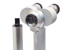 Portable slit lamp isolation on white Royalty Free Stock Image