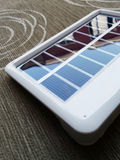 Portable solar cell Royalty Free Stock Image