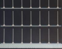 Portable solar panel texture Royalty Free Stock Photos