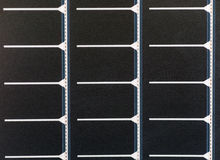 Portable solar panel texture Royalty Free Stock Images