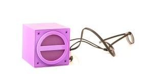 Portable speaker Royalty Free Stock Photos