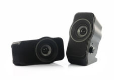 Portable Speakers Stock Photography
