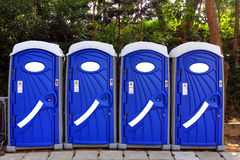Portable Toilet Royalty Free Stock Image