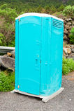 A portable toilet Stock Images