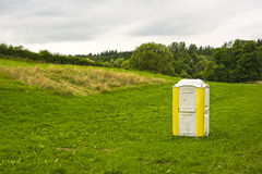 Portable toilet Stock Photos