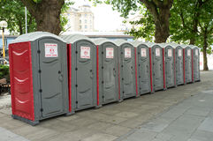 Free Portable Toilets Royalty Free Stock Photography - 32578577