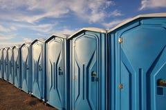 Free Portable Toilets Royalty Free Stock Photos - 50513268