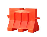 Portable traffic barrier Stock Images