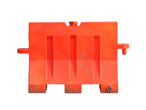 Portable traffic barrier Stock Photos