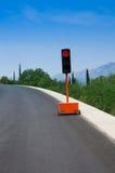 Portable traffic light Stock Photography