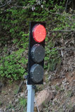 Portable traffic light Royalty Free Stock Photo