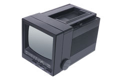 Portable TV Stock Photo